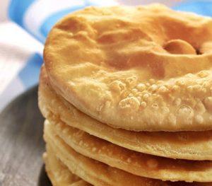 receta de tortas fritas sin grasa